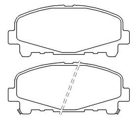 Тормозные колодки для Honda Accord
