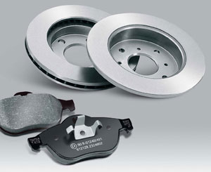 TEXTAR тормозные диски и тормозные колодки